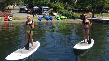 Lakefront Standup Paddle & Kayak Rentals